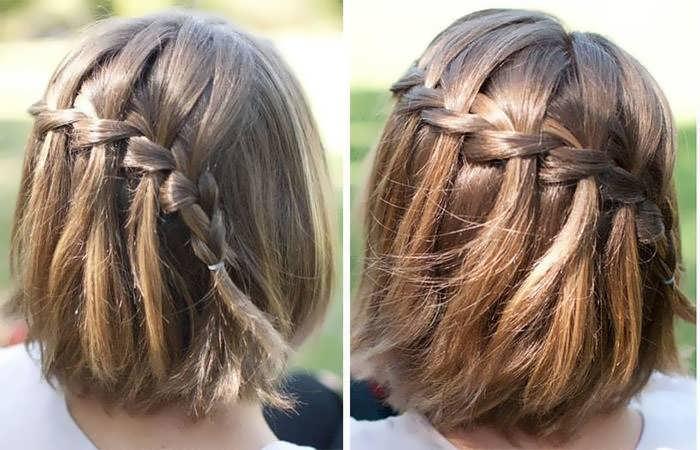 Модные прически для коротких волос своими руками