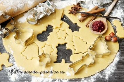Новогодние украшения из формочек для печенья