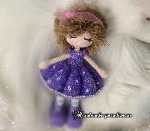 Платье для куколки схема