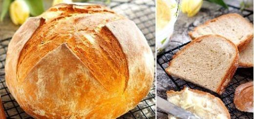 Вкусный домашний хлеб в духовке