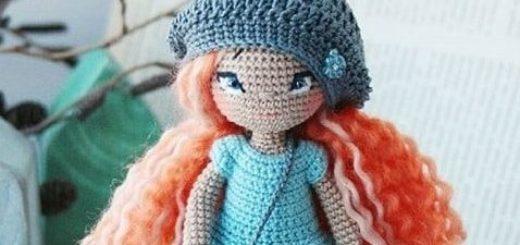 Вяжем зонтик для куколки амигуруми