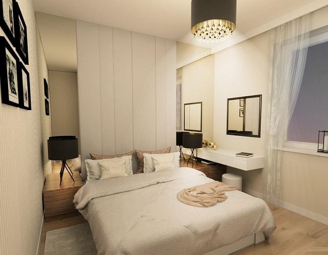 Как визуально увеличить спальню (1)