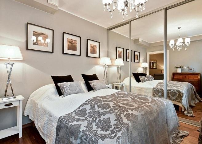 Как визуально увеличить спальню (4)