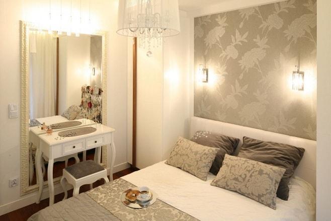 Как визуально увеличить спальню (5)