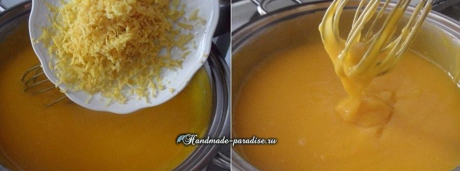 Лимонный пирог с безе. Рецепт (7)