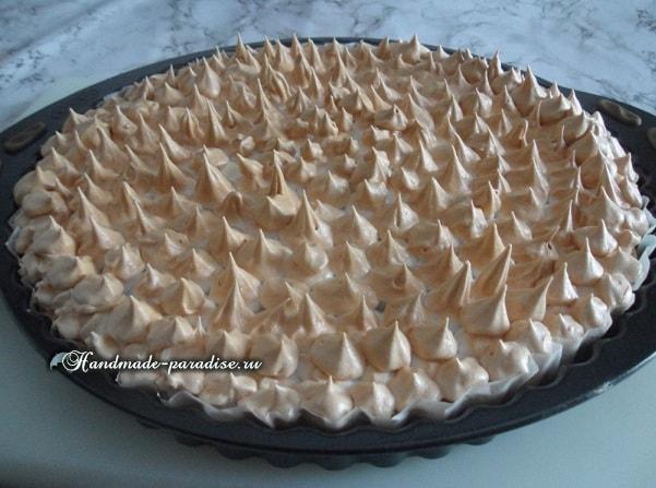 Лимонный пирог с безе. Рецепт (10)