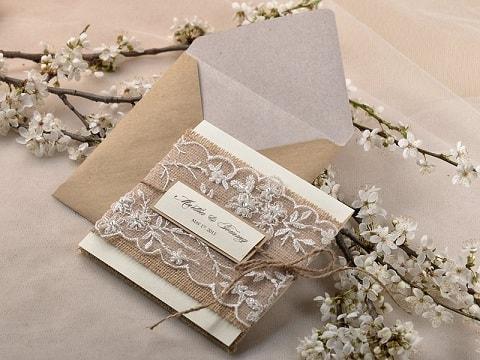 Как сделать свадебное приглашение своими руками (2)