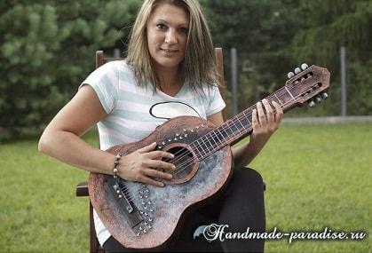 Гитара из картона. Мастер-класс (1)