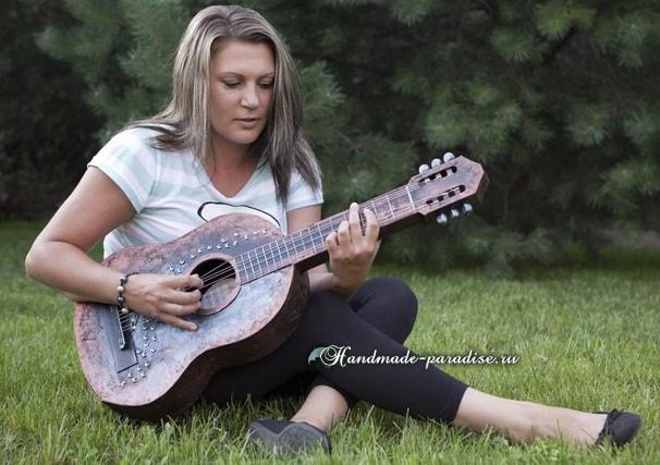 Гитара из картона. Мастер-класс (2)