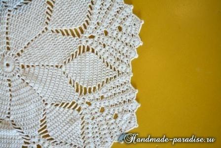 Крючком. Цветочный коврик для гостиной (2)