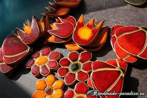 Кухонный фартук из мозаики своими руками (2)