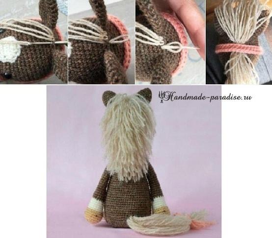 Описание вязания лошадки (1)