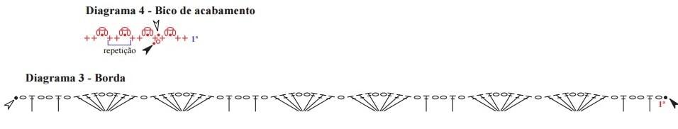 Салфетка крючком с большой пуансеттией (4)