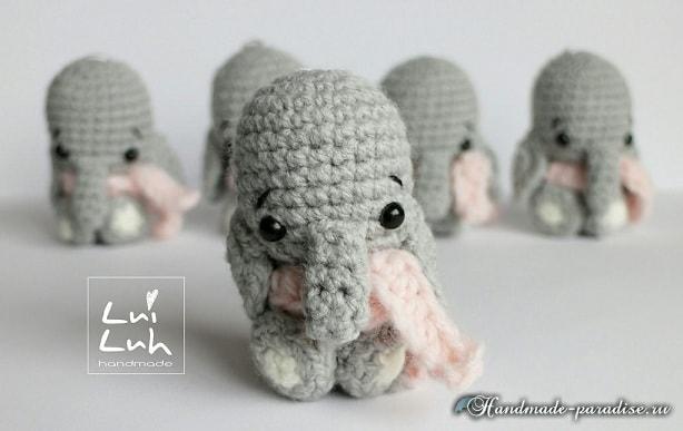 Слоник амигуруми. Описание