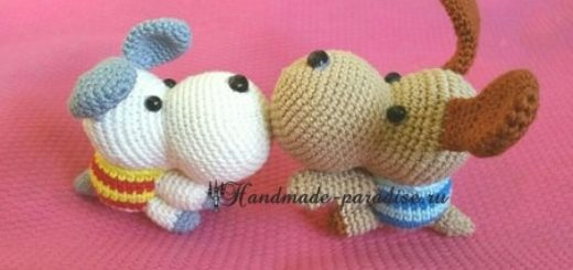 Собачки амигуруми. Описание (2)