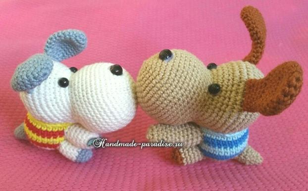 Собачки амигуруми. Описание (5)