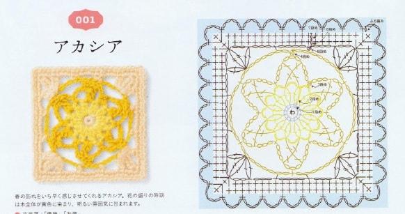 Цветочные салфетки - подстаканники крючком (3)