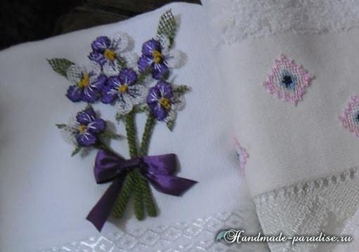 Цветы в технике игольное кружево (1)