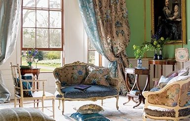 Жаккардовая ткань для костюмов, штор и мебели (3)