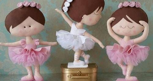 Балеринки из фетра. Шаблоны (1)
