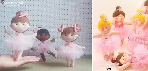 Балеринки из фетра. Шаблоны (3)