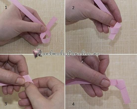 Как сложить звездочку из бумаги в технике оригами (2)