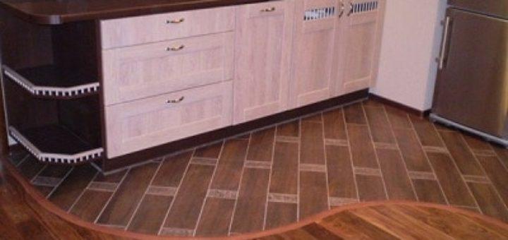 Линолеум или плитка. Сравнительная характеристика напольных покрытий для кухни (1)