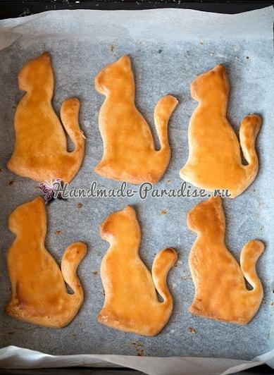 Любителям кошек. Рецепт песочного печенья (2)