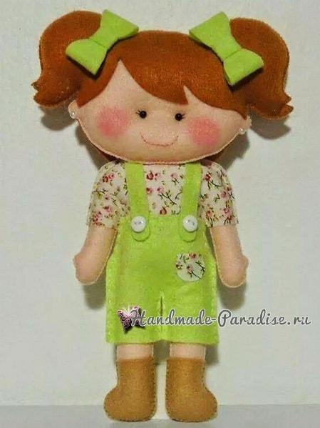 Самые красивые куколки из фетра. Шаблоны (2)