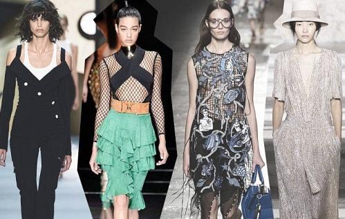 Тенденции моды сезона весна-лето 2017 (1)