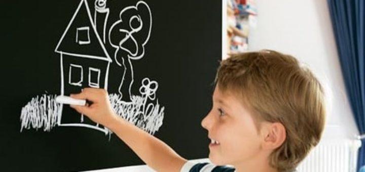 Творчество с детьми - пленки для рисования мелом (2)