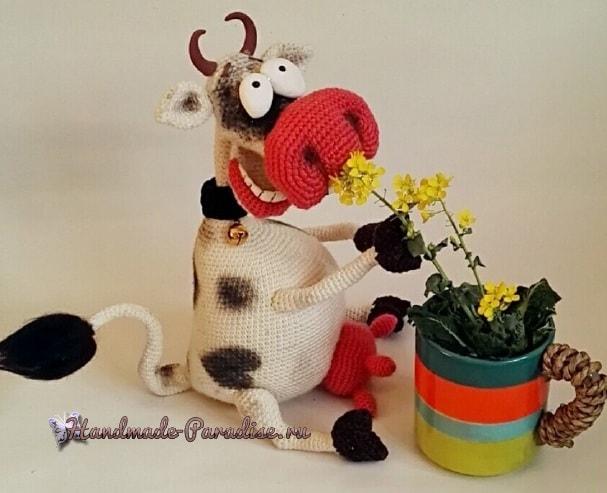 Веселая корова крючком. Амигуруми (2)