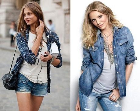 Женские рубашки (2)