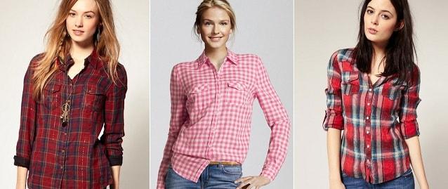 Женские рубашки (3)