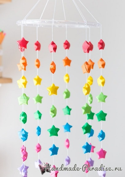 Звездочки из бумаги в технике оригами (2)