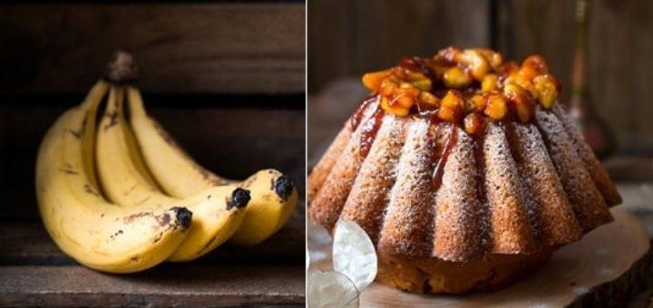 Банановая ромовая баба. Рецепт кекса (1)
