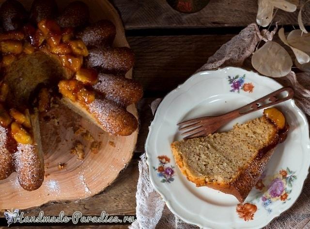 Банановая ромовая баба. Рецепт кекса (4)