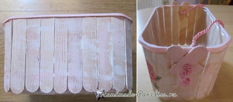 Коробочки из медицинских шпателей своими руками (4)