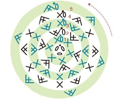Красные МАКИ крючком. Схемы вязания (6)