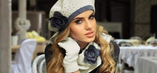 Модные головные уборы (2)