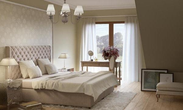 Правила оформления маленькой спальни (1)