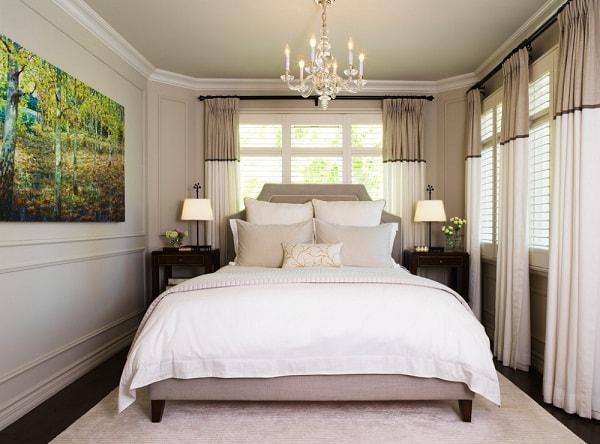 Правила оформления маленькой спальни (3)