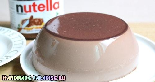 Шоколадный пудинг из Nutella (2)