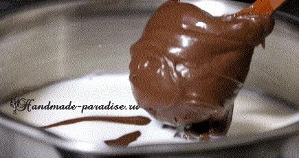 Шоколадный пудинг из Nutella (3)