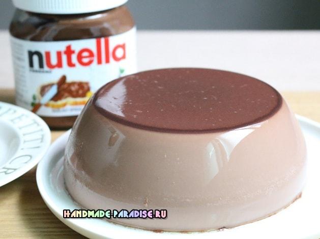 Шоколадный пудинг из Nutella (4)