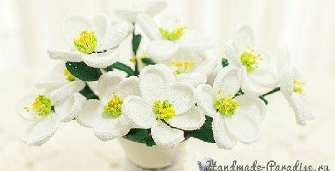 Весенние цветы крючком. Схемы вязания (2)