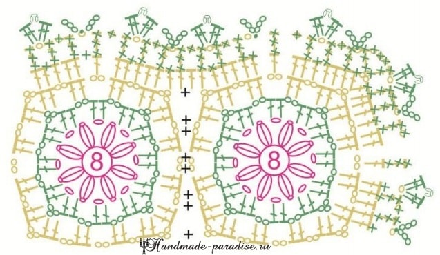 Вязаные коврики для сервировки стола (1)