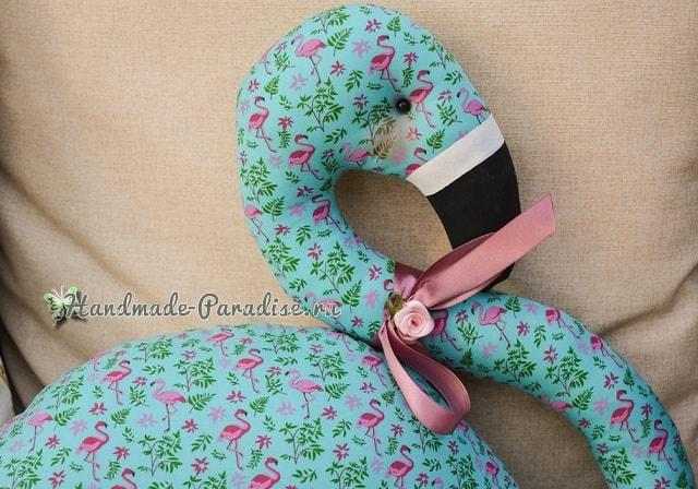 Детская игрушка-подушка «Фламинго» (2)