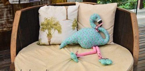 Детская игрушка-подушка «Фламинго» (3)