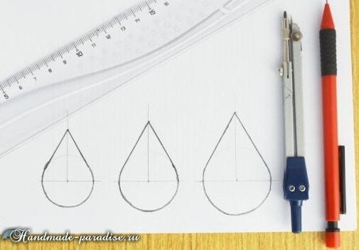 Джинсовые серьги с бисером своими руками (2)